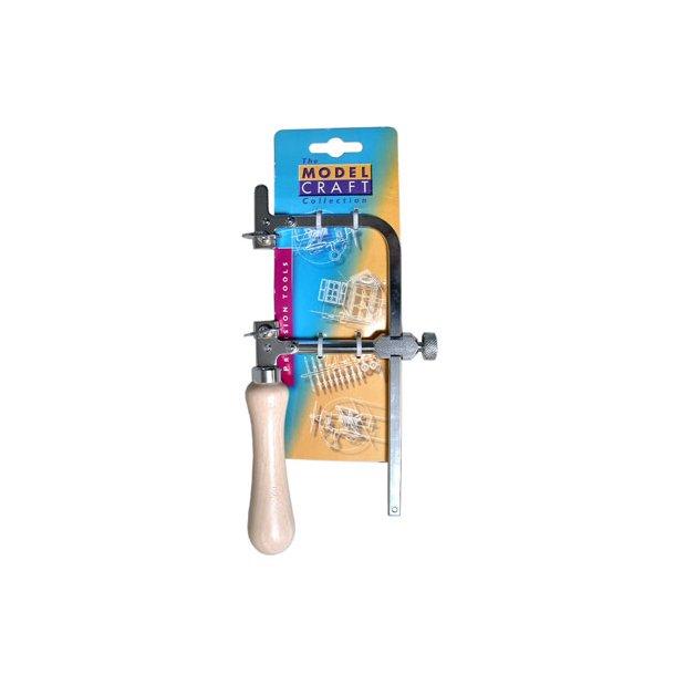 Piercing saw frame - adjustable