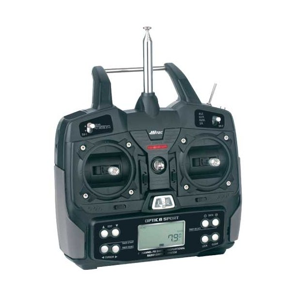 OPTIC 6 SPORT 40MHz Mode 1 Electric Micro Set