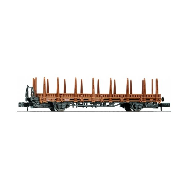 Flat wagon with stakes - DB