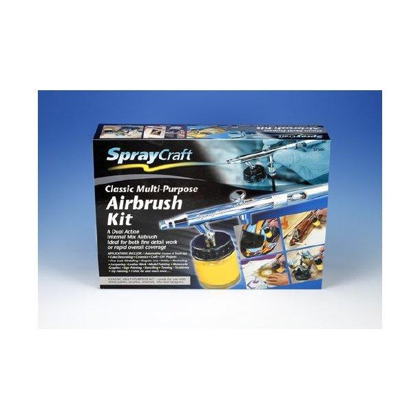 SprayCraft - Klassisk Airbrush Kit