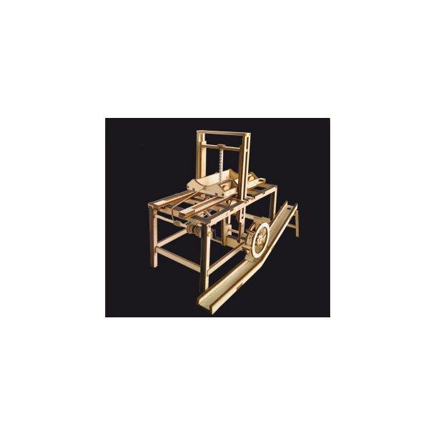 The Hydraulic sav - Leonardo da Vinci