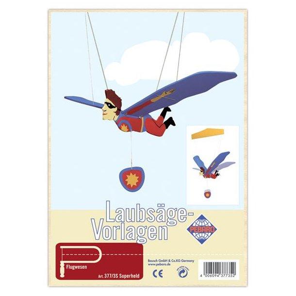 Løvsavs sæt - Flyvende Superhelt