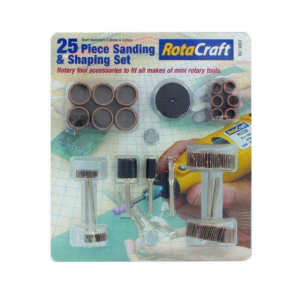 25pc Sanding & Shaping set