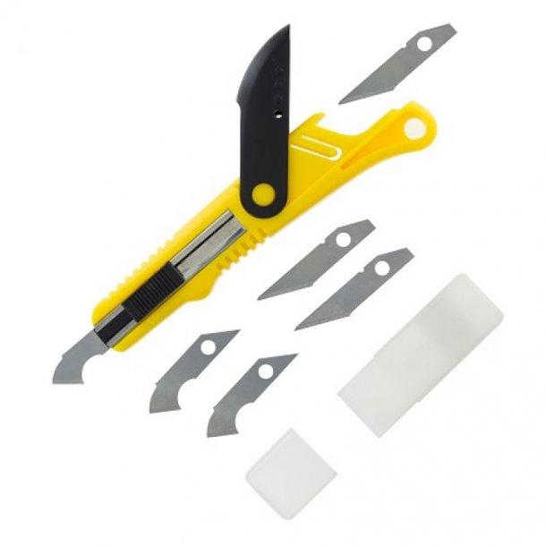 Plastic skærer og skraber (scriber)