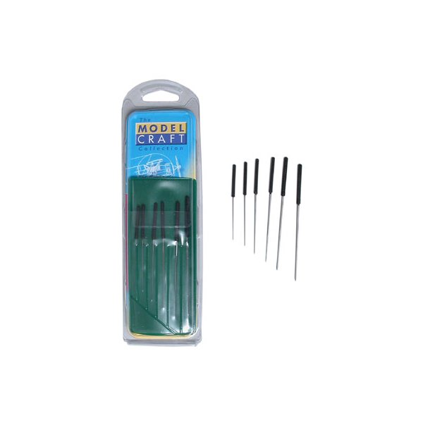 Smoothing broach set 0,4 - 1,4mm