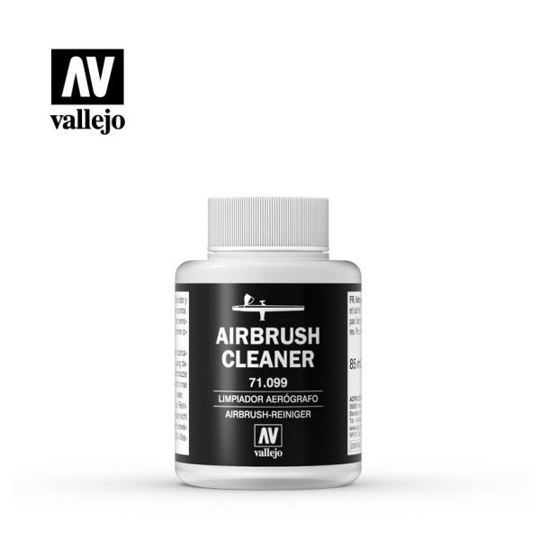 Rensevæske til Airbrush - fra Vallejo