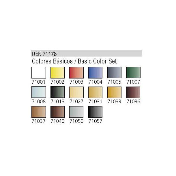 Grundsæt til Airbrushing (16 stk maling)