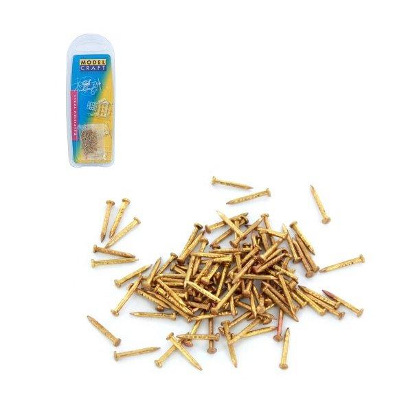 100 x 10mm Brass Pins
