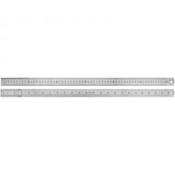 Lineal 60 cm i stål